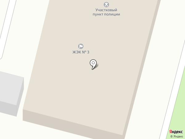 ЖЭК №3 на карте Железногорска