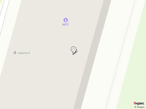 МТС на карте Железногорска