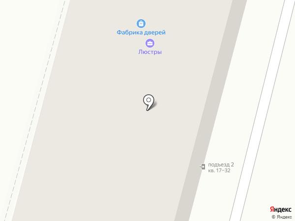 Фабрика дверей на карте Железногорска