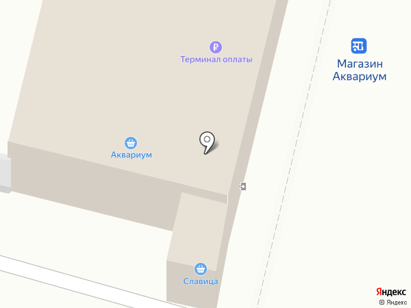 Магазин зоотоваров на карте Железногорска