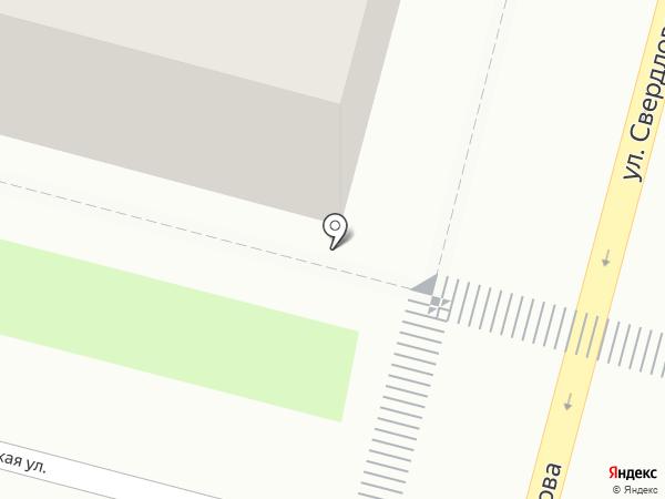 Аркада на карте Железногорска