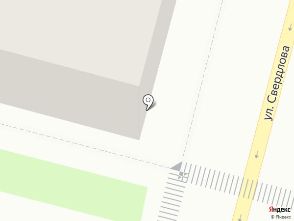 Юничел на карте Железногорска
