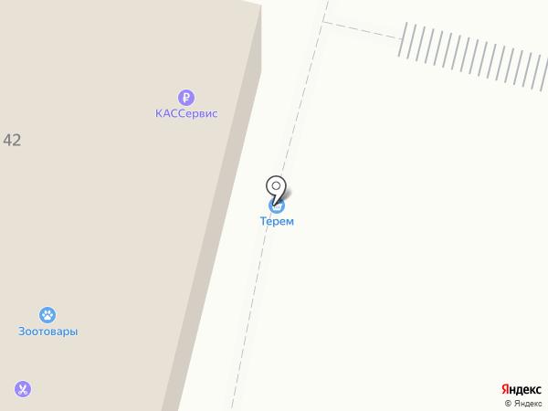 Теремок на карте Железногорска