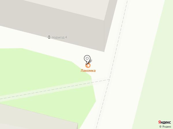 Лакомка на карте Железногорска