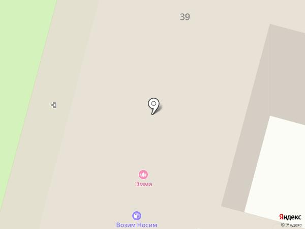 Кармер на карте Железногорска