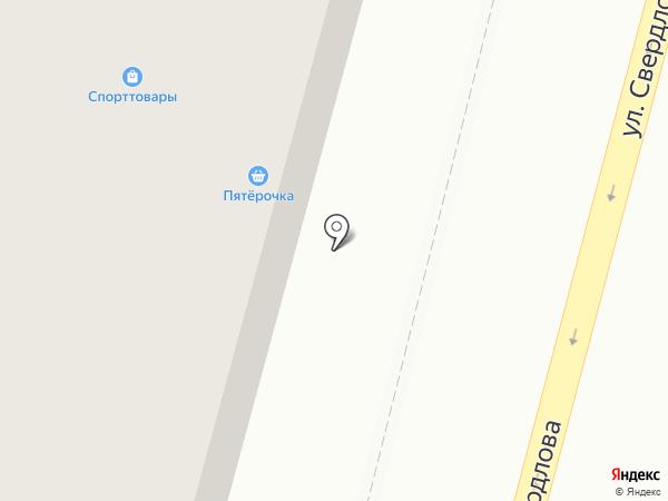 Сервис Торг Гарант+ на карте Железногорска