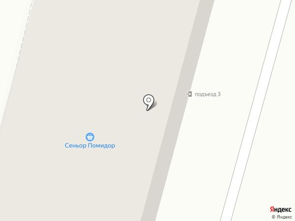 Спутник на карте Железногорска