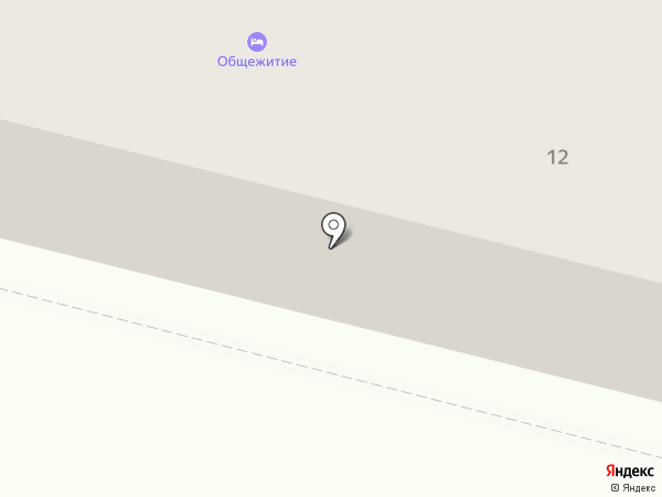 Общежитие на карте Железногорска