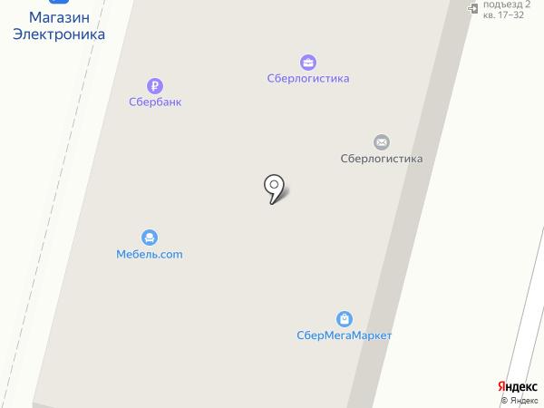 Мебель.com на карте Железногорска