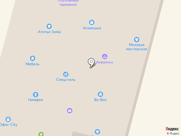 Магазин мужской одежды на карте Железногорска
