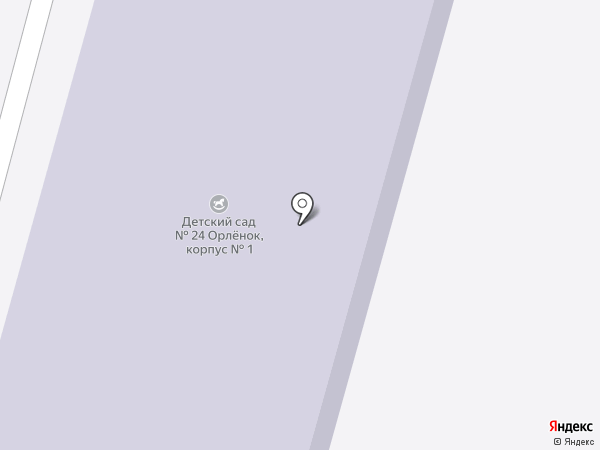 Детский сад №24 на карте Железногорска