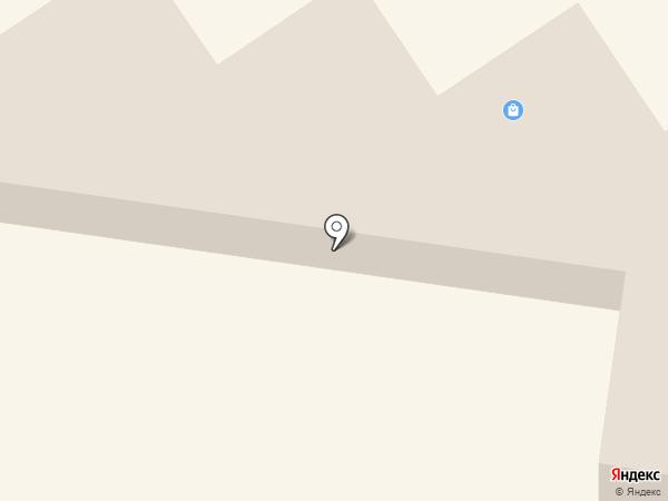 Магазин тканей и постельных принадлежностей на карте Железногорска