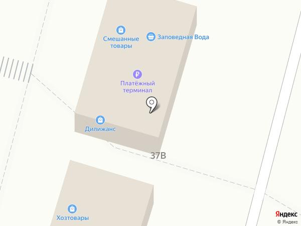 Дилижанс на карте Железногорска