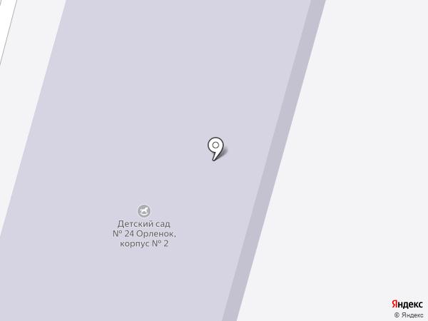 Детский сад №17 на карте Железногорска