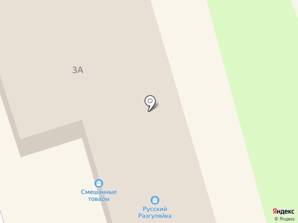 РИФ на карте Железногорска
