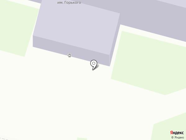 Центральная городская библиотека им. М. Горького на карте Железногорска