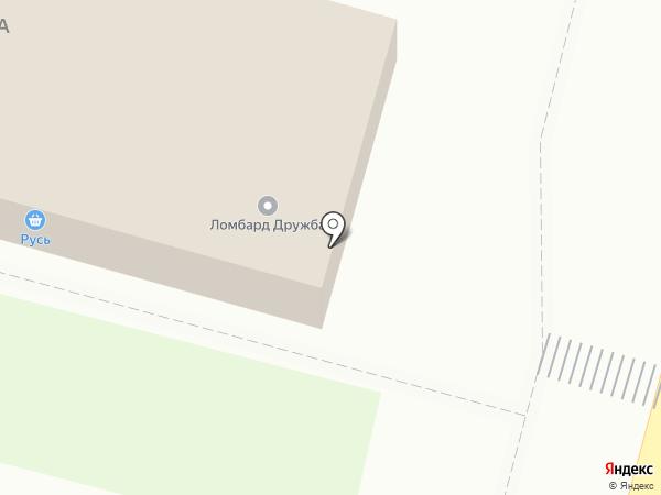 Дружба на карте Железногорска