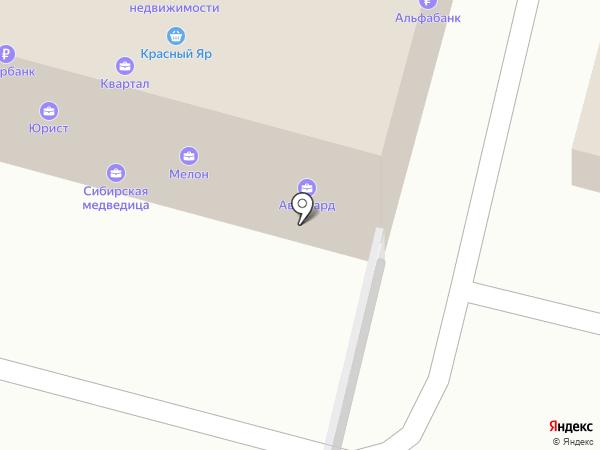 Мелон на карте Железногорска
