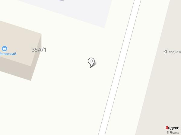 Берёзовский на карте Железногорска