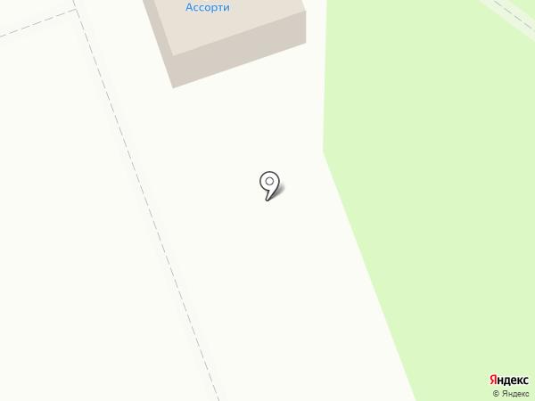 Киоск по продаже фастфудной продукции на карте Железногорска