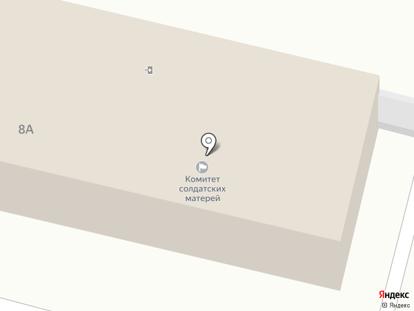Отдел Военного комиссариата Красноярского края по г. Железногорску на карте Железногорска