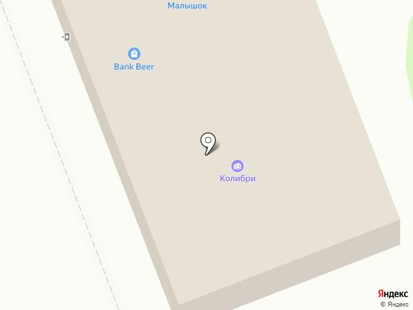 Колибри на карте Железногорска