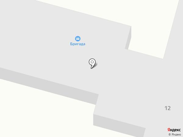Бригада на карте Железногорска