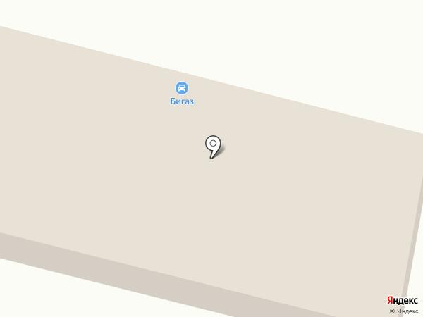 Бигаз Холдинг на карте Железногорска