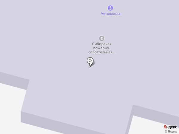 Сибирская пожарно-спасательная академия на карте Железногорска