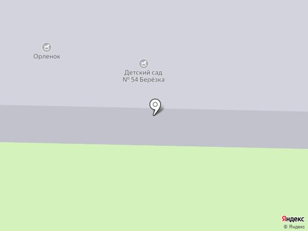 Детский сад №54 на карте Железногорска