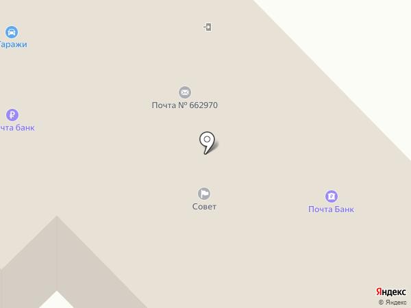 СОВЕТ, КПК на карте Железногорска