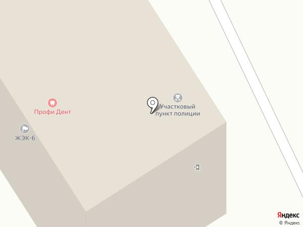 ЖЭК №6 на карте Железногорска
