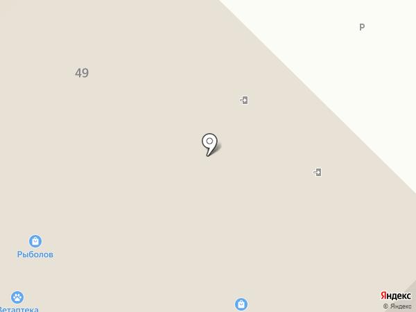 Ветеринарная аптека на карте Железногорска