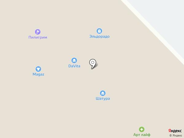 Эльдорадо на карте Железногорска