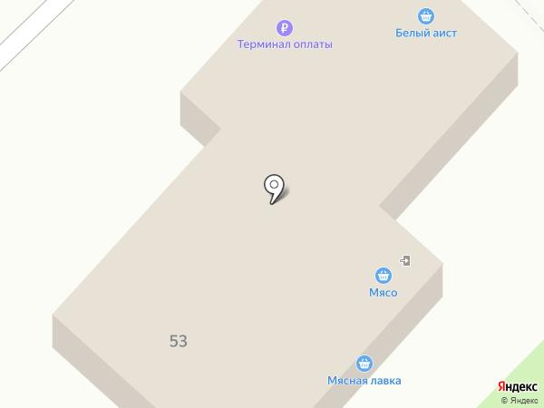 Белый аист на карте Железногорска