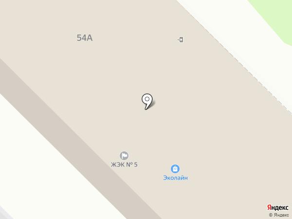 ЖЭК №5 на карте Железногорска