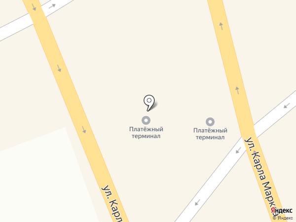 Ангарск на карте