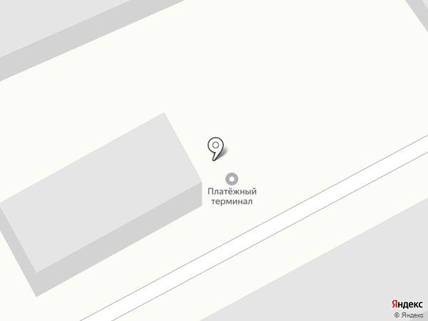 Атамановка на карте