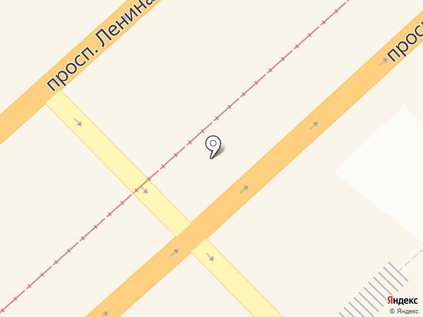 Комсомольск-на-Амуре на карте