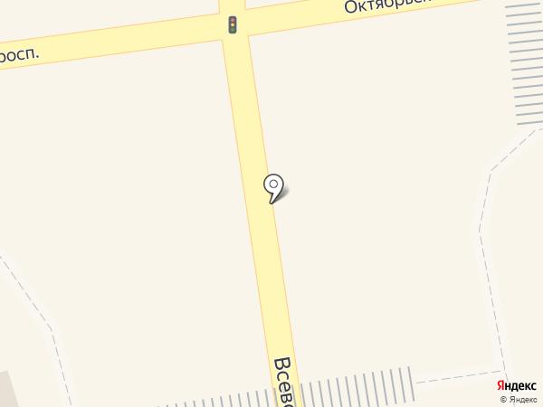 Всеволожск на карте