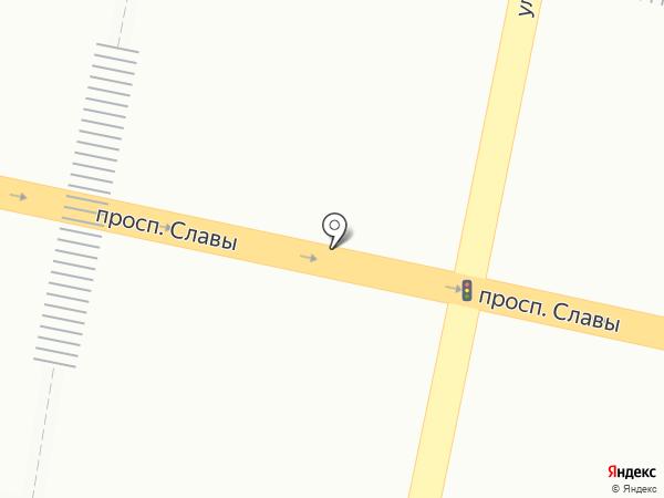 Белгород на карте