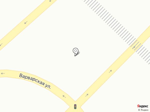 Нижний Новгород на карте