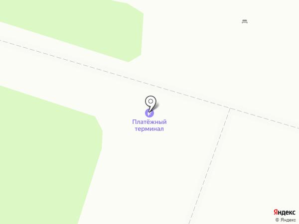 Бор на карте