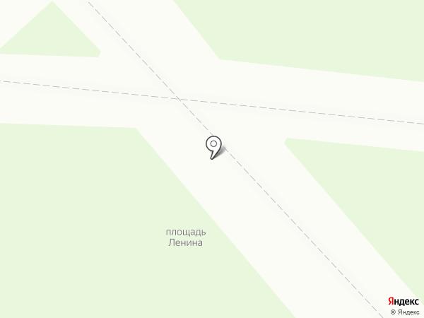 Заречный на карте
