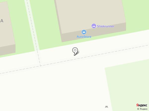 Тольятти на карте