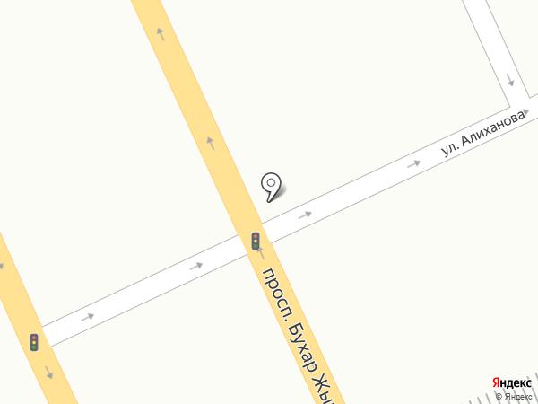 Караганда на карте