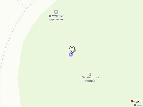 Сургут на карте