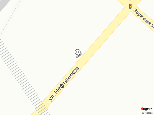 Мегион на карте