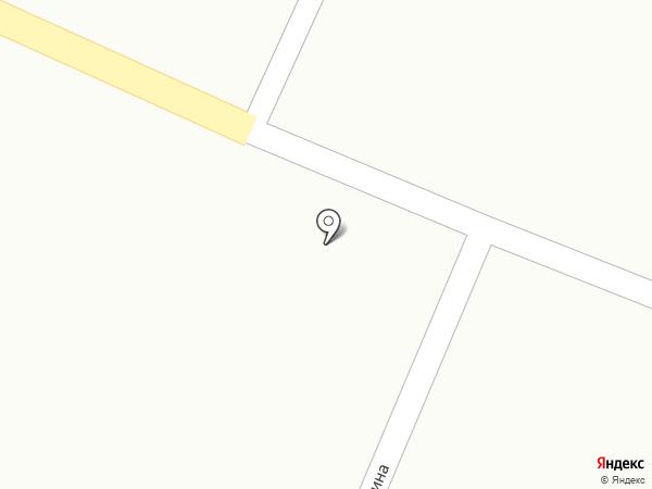 Бархатово на карте