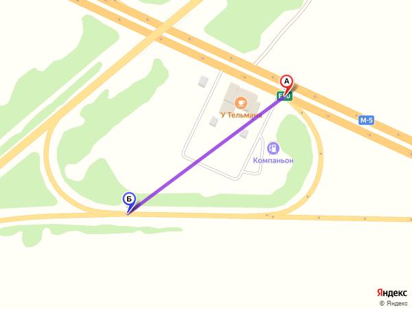 съезд направо 310м за 1мин